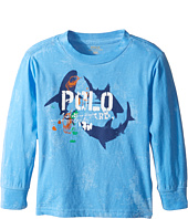 Polo Ralph Lauren Kids - Basic Jersey Long Sleeve Graphic Tee (Toddler)