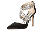 Badgley Mischka - Glamorous (Black Satin)