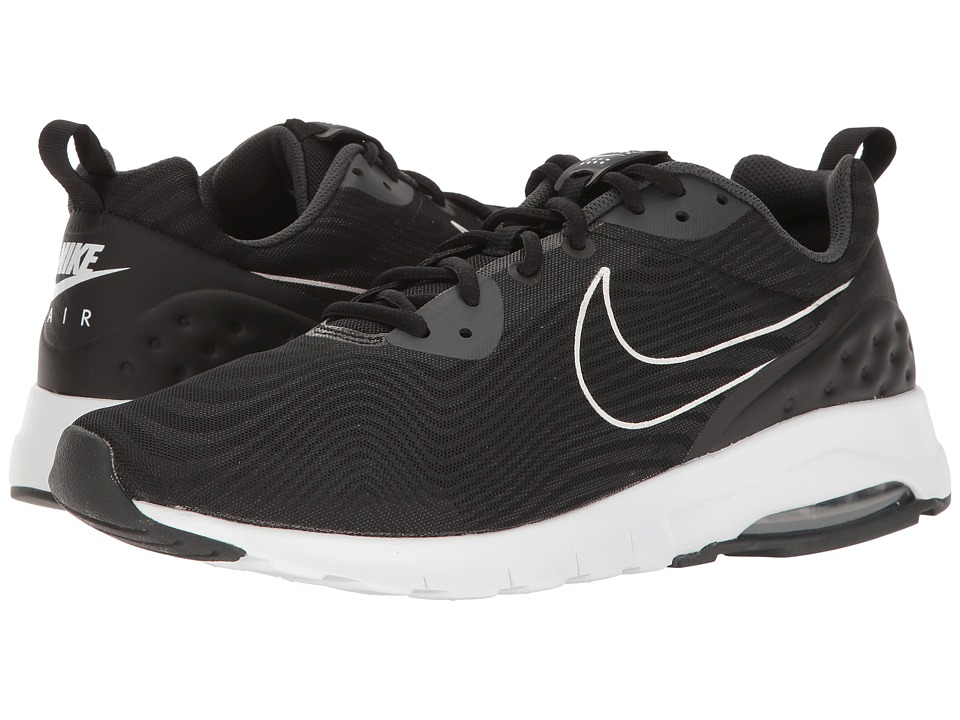 Nike - Air Max Motion Low Premium (Black/Black/Anthracite) Mens Running Shoes