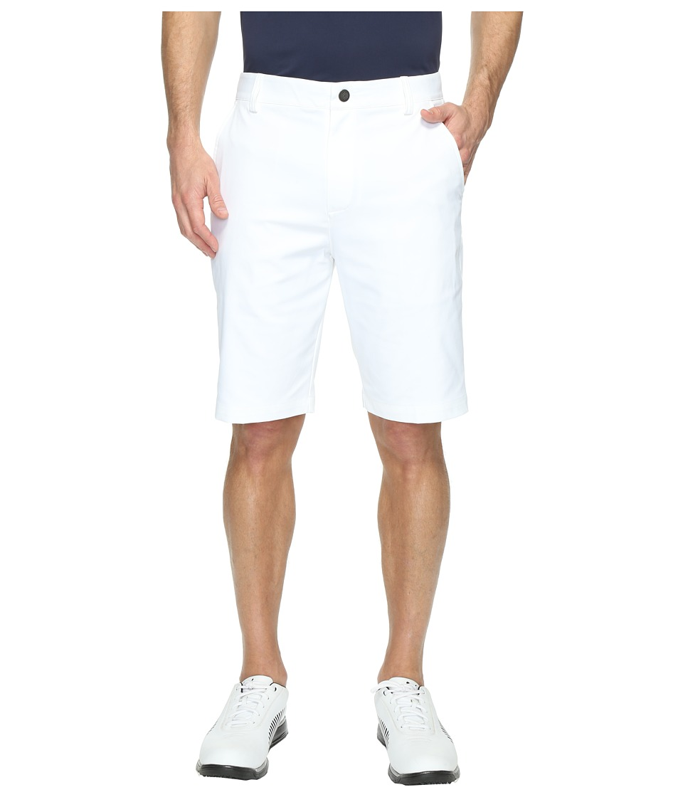 PUMA Golf Essential Pounce Shorts (Bright White) Men