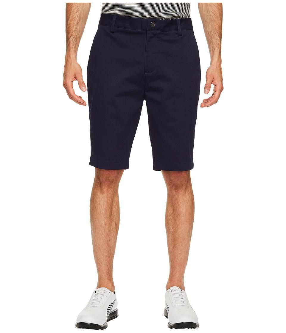 PUMA Golf Tailored Chino Shorts (Peacoat) Men
