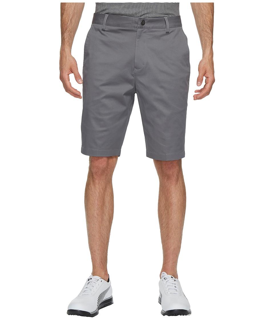 PUMA Golf Tailored Chino Shorts (Quiet Shade) Men