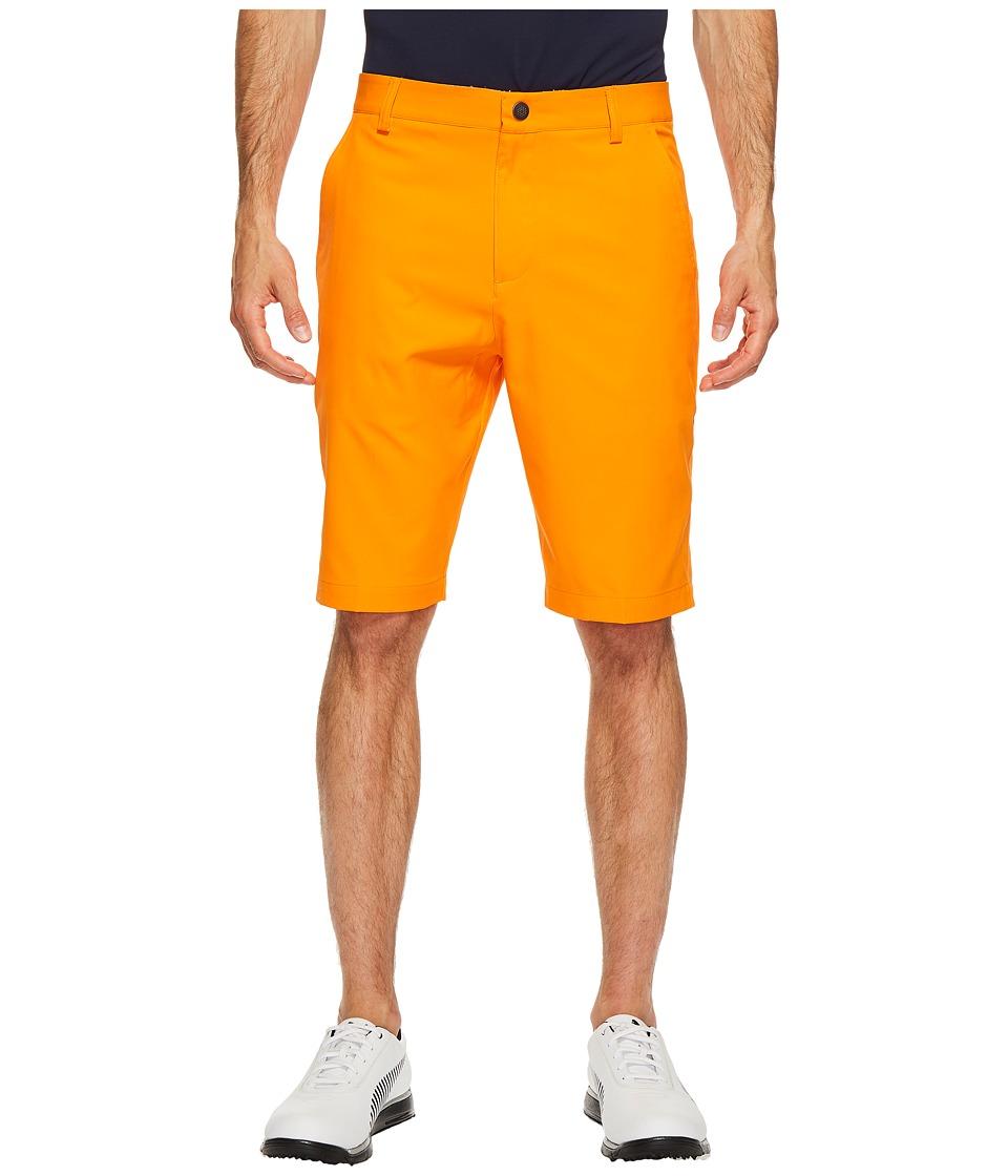 PUMA Golf Essential Pounce Shorts (Vibrant Orange) Men