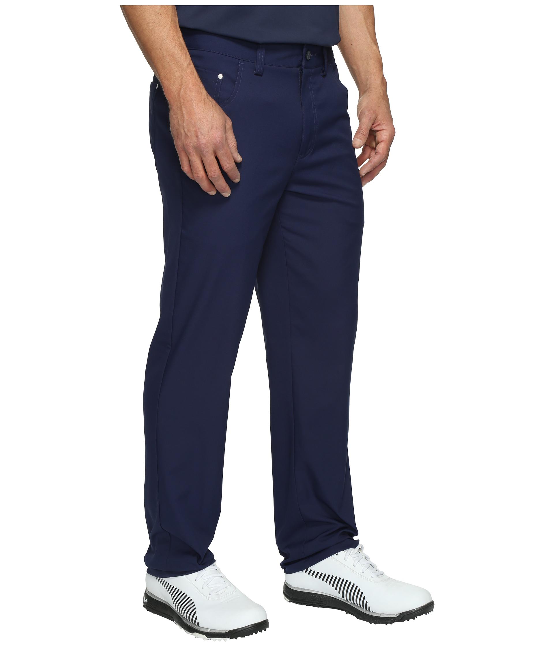 Innovative Tech Womens Golf Capri Pants White Tech Womens Womens Puma Womens Golf