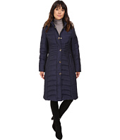 Anne Klein - Quilted Jacket with Fur Collar