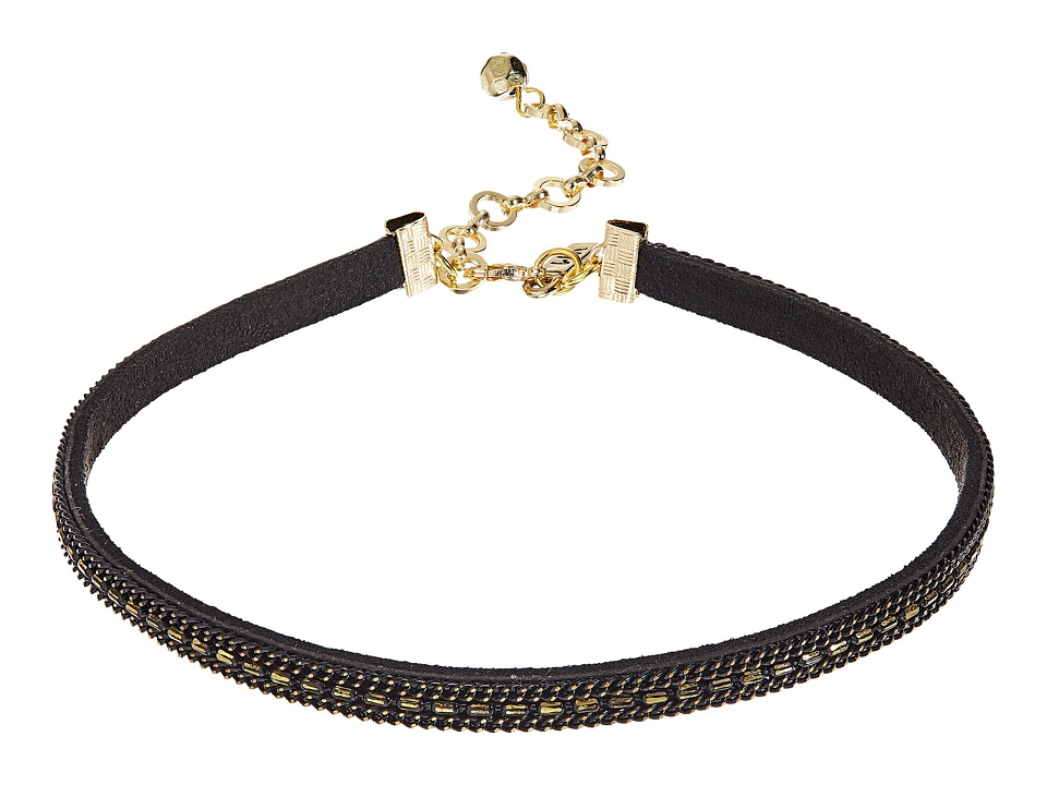 Vanessa Mooney - The Paz Choker Necklace (Black) Necklace