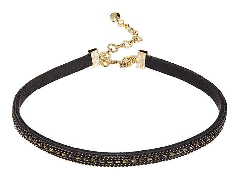 Vanessa Mooney The Paz Choker Necklace - Black