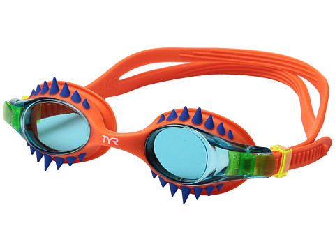 TYR Swimple Spikes - Blue/Orange/Orange