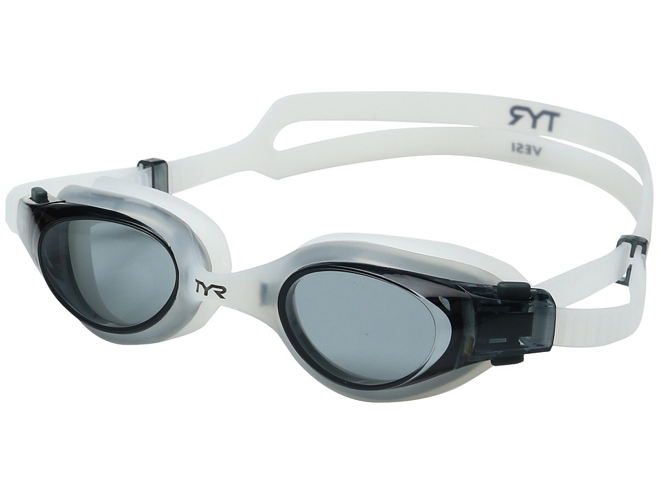 clear goggles nmj0  TYR Vesi Smoke Clear/Clear Goggles