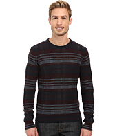 Perry Ellis - Plaid Crew Neck Sweater