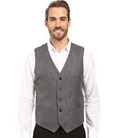 Perry Ellis - Mini-Check Twill Suit Vest