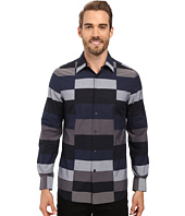 Perry Ellis - Slim Block Stripe Shirt