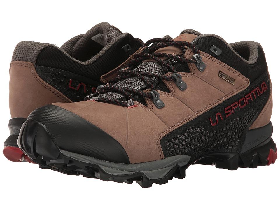 La Sportiva - Genesis Low GTX (Taupe/Brick) Mens Shoes