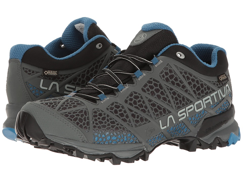 La Sportiva - Primer Low GTX (Carbon/Blue) Mens Shoes