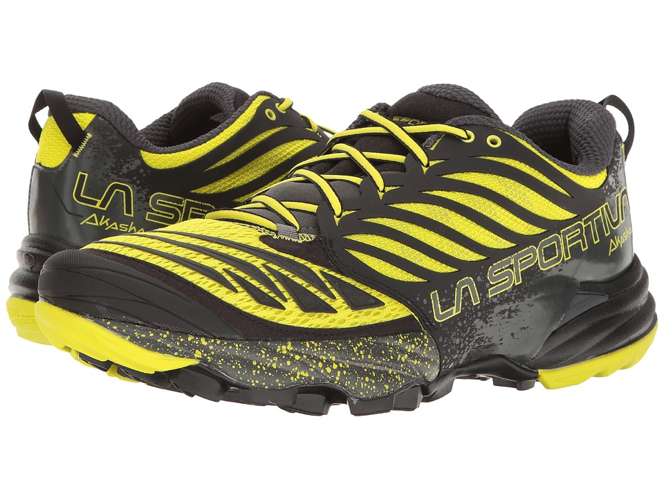 La Sportiva - Akasha (Black/Sulphur) Mens Shoes