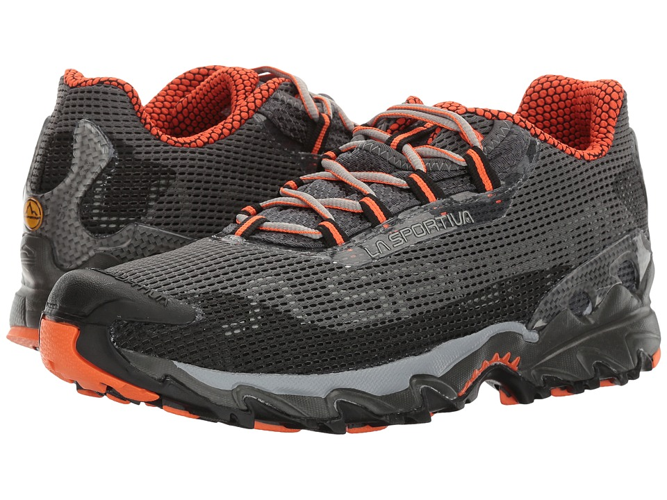 La Sportiva - Wildcat (Carbon/Flame) Mens Running Shoes