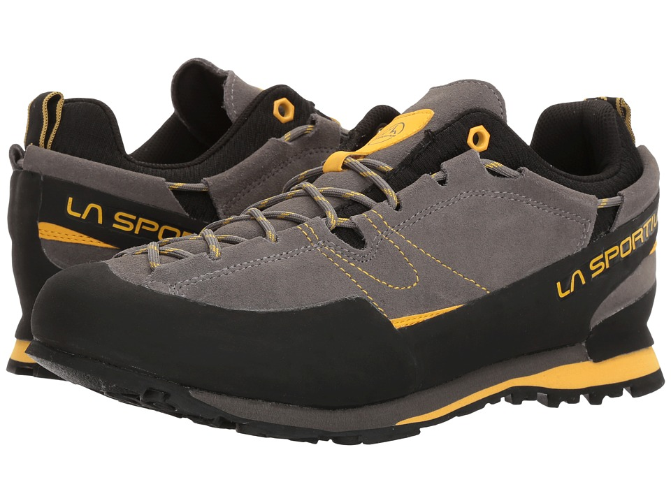 La Sportiva - Boulder X (Grey/Yellow) Mens Shoes