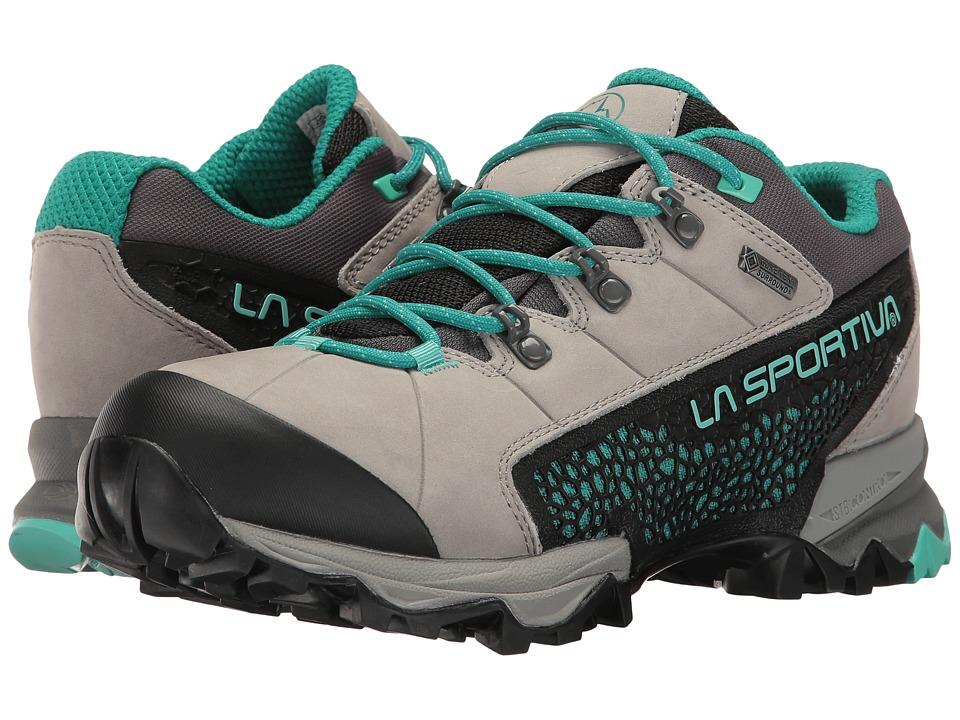 La Sportiva - Genesis Low GTX (Grey/Mint) Womens Shoes