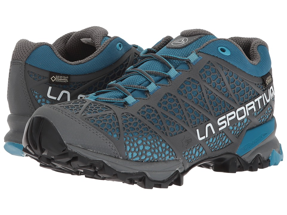 La Sportiva - Primer Low GTX (Carbon/Fjord) Womens Shoes