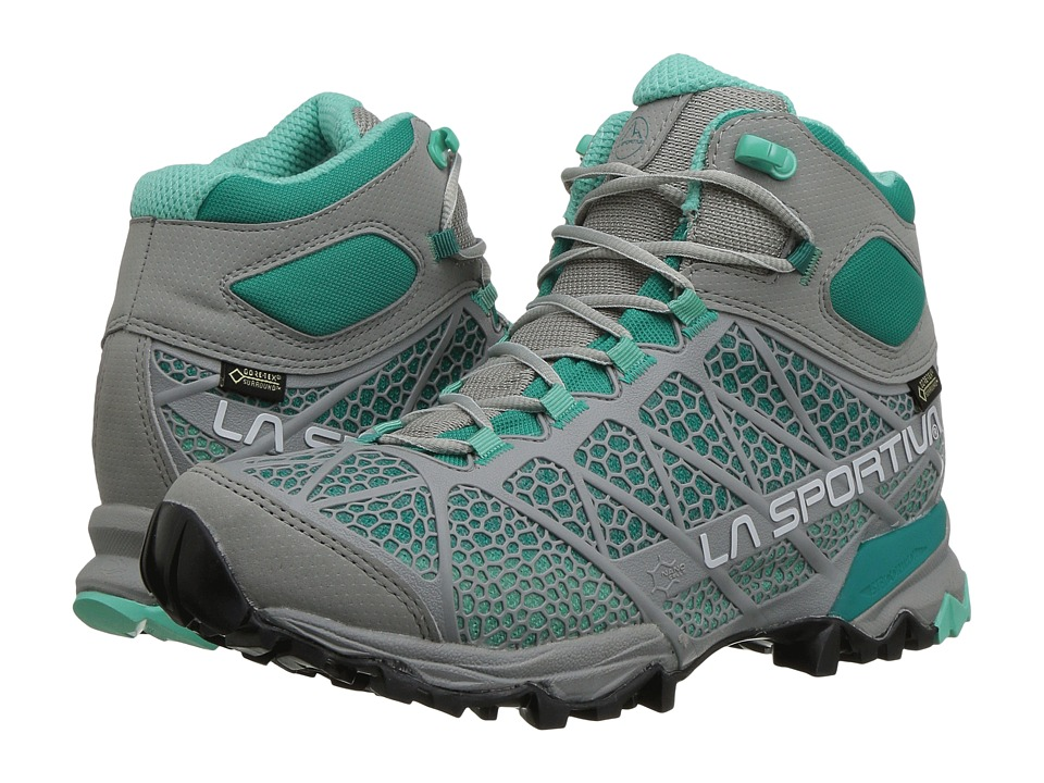 La Sportiva - Core High GTX (Grey/Mint) Womens Shoes