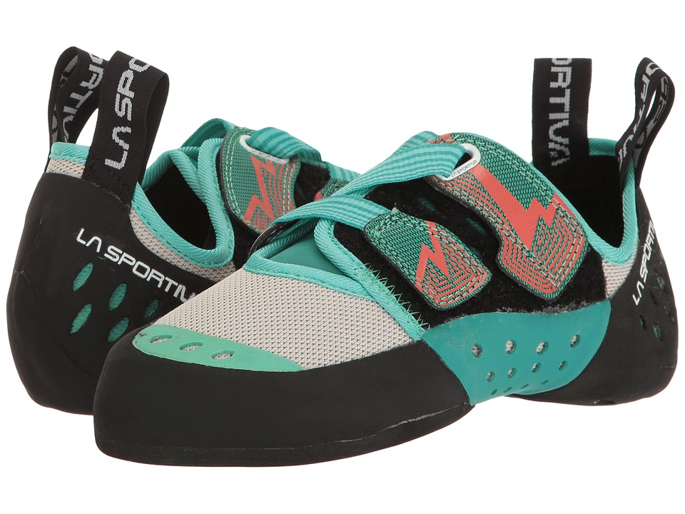 La Sportiva - Oxygym (Mint/Coral) Womens Climbing Shoes