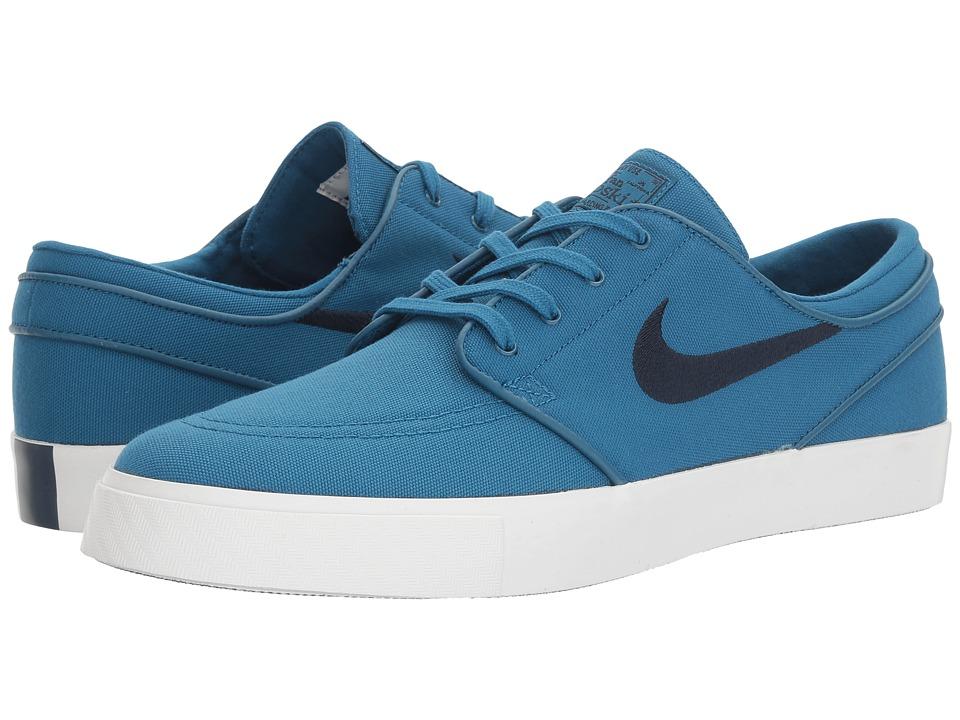 Nike SB Zoom Stefan Janoski Canvas (Industrial Blue/Obsidian) Men