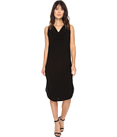 Michael Stars - Modern Rayon Draped Dress w/ Back Tie