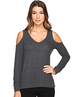 Michael Stars - Super Soft Madison Brushed Jersey Cold Shoulder