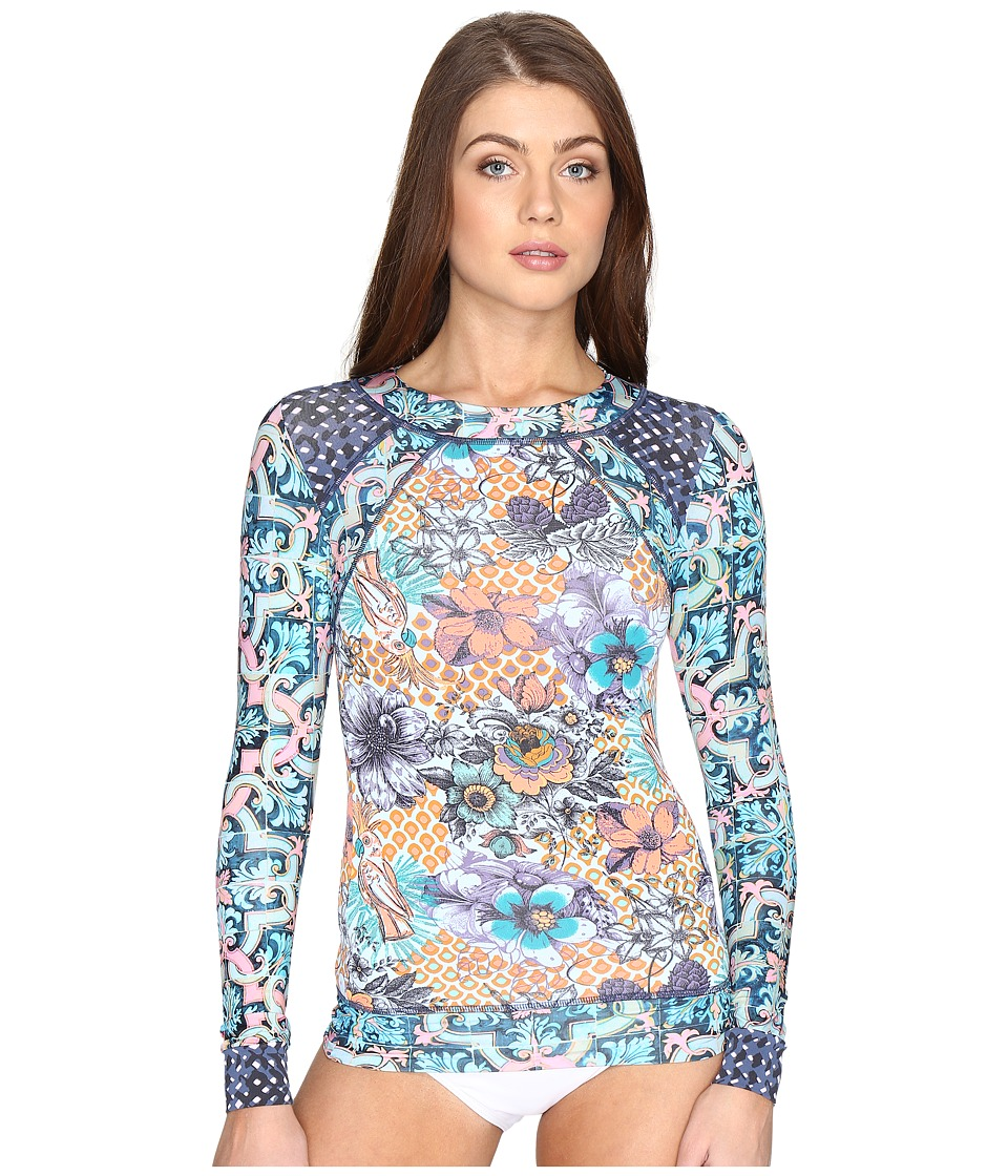 Maaji - Poolside Floral Rashguard Cover-Up