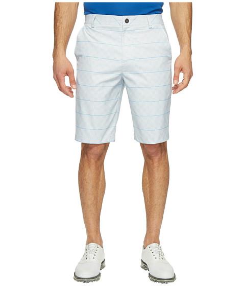PUMA Golf Plaid Shorts