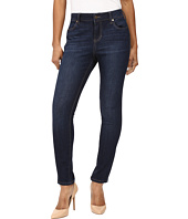 Liverpool - Petite Abby Skinny Jeans in Corvus Dark Indigo