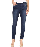 Liverpool - Petite Abby Skinny Jeans in Manchester Wash Indigo