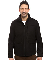 Nautica - Wool Melton Zip Front Jacket