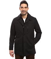 Nautica - Wool Melton Button Front Coat