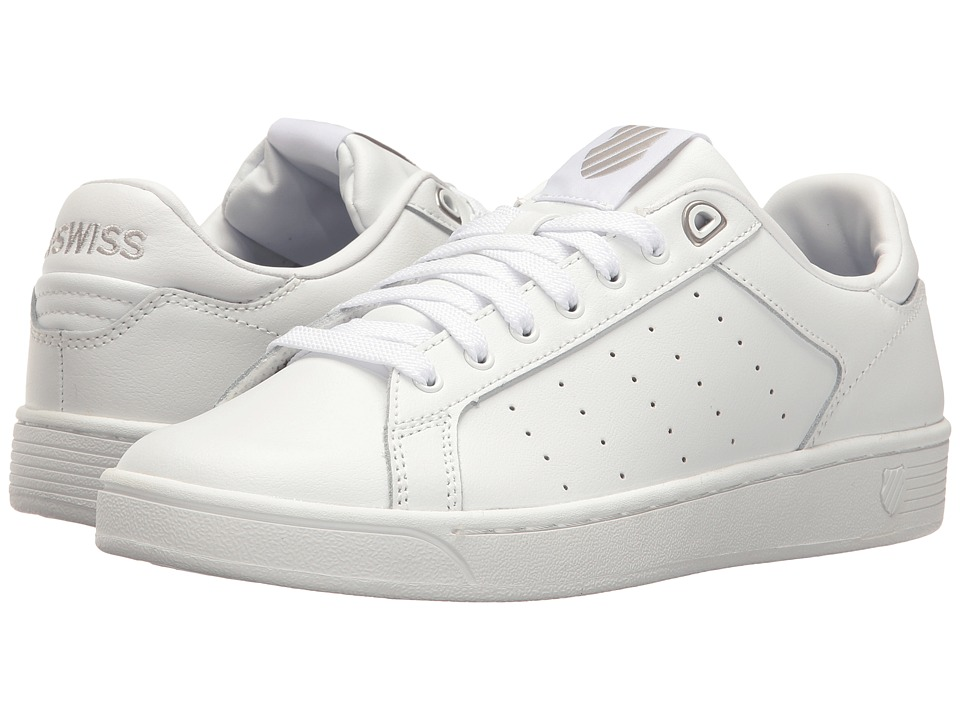 K-Swiss Clean Court CMF (White/Gull Gray) Women's Tennis ...