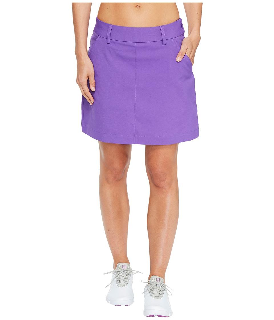 PUMA Golf Pounce Skirt (Royal Purple) Women