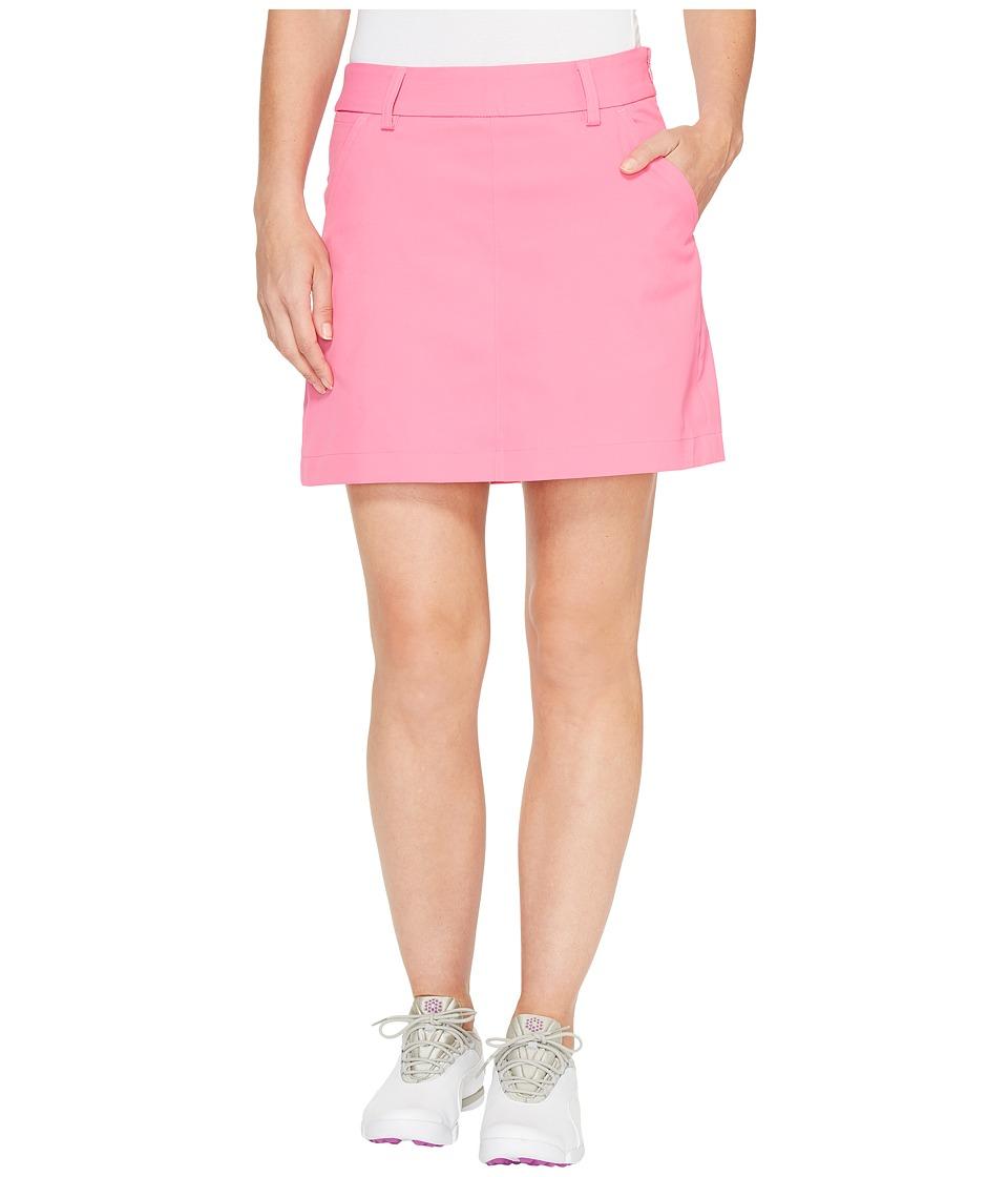 PUMA Golf Pounce Skirt (Shocking Pink) Women