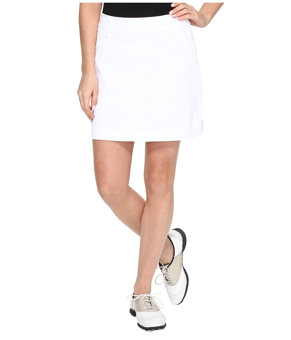 PUMA Golf Pounce Skirt (Bright White) Women