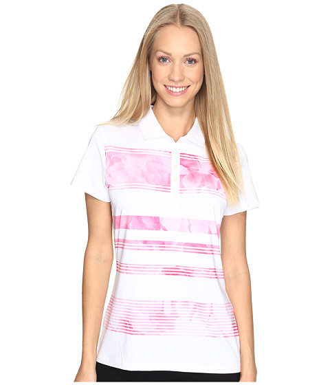 PUMA Golf Bloom Stripe Polo