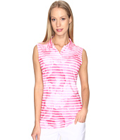 PUMA Golf - Bloom Stripe Sleeveless Polo