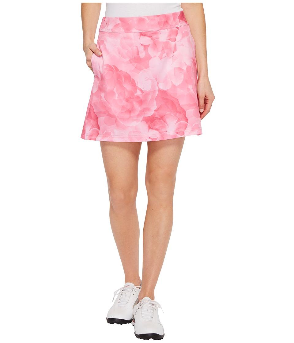 PUMA Golf Bloom Skirt (Shocking Pink) Women
