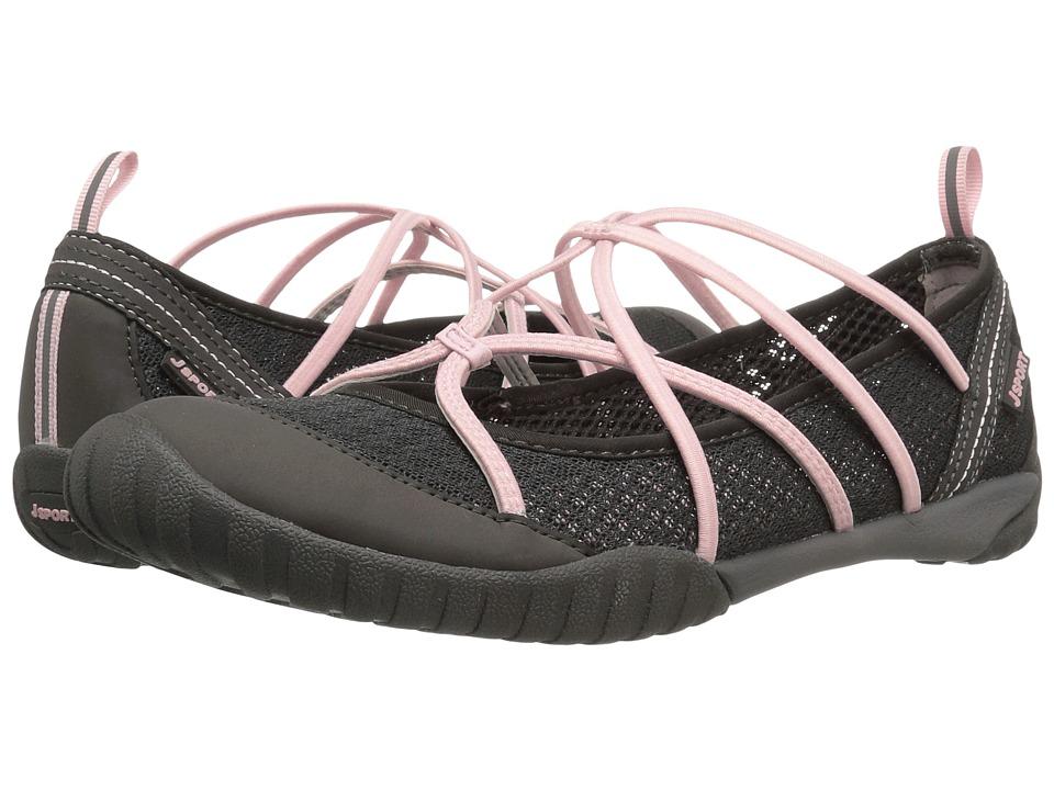 JBU - Radiance Water Ready (Charcoal/Petal Mesh/Microbuck) Womens Shoes