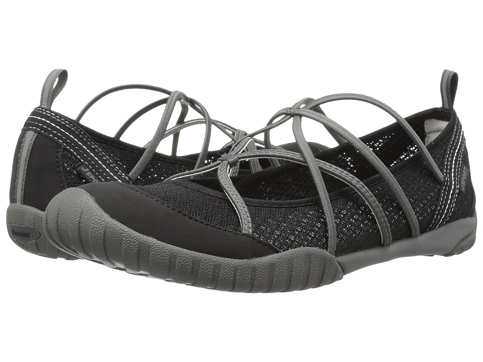 JBU - Radiance Water Ready (Black Mesh/Microbuck) Womens Shoes