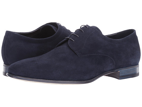 a. testoni Suede Deluxe Derby