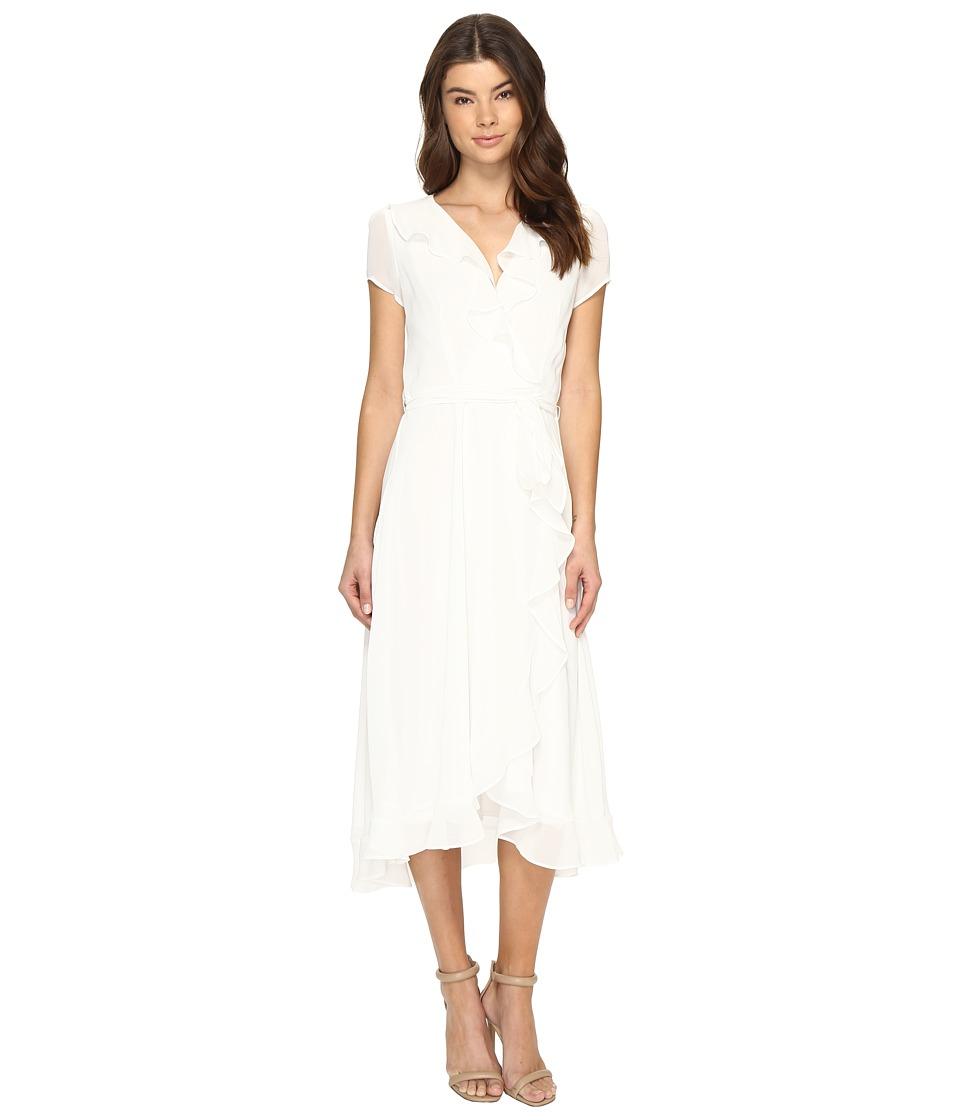 Christin Michaels - Adela Short Sleeve Ruffle Dress
