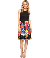 Christin Michaels - Reine Sleeveless Floral Print Dress