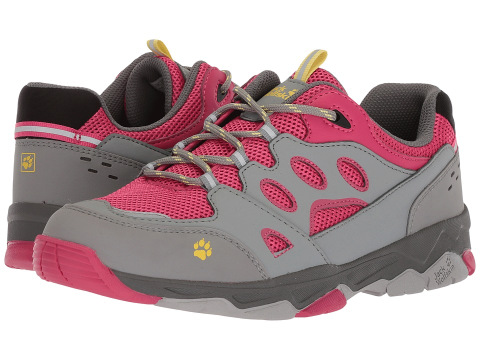 Jack Wolfskin Kids - Mountain Attack 2 (Toddler/Little Kid/Big Kid) (Tropic Pink) Girls Shoes