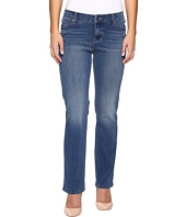 Liverpool - Petite Sadie Straight Jeans in Carolina Light/Indigo