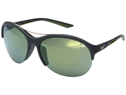 Nike Flex Momentum R - Matte Anthracite/Green Triflection Petrol Lens