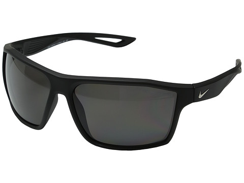 Nike Legend P - Matte Black/Silver/Polarized Grey Lens